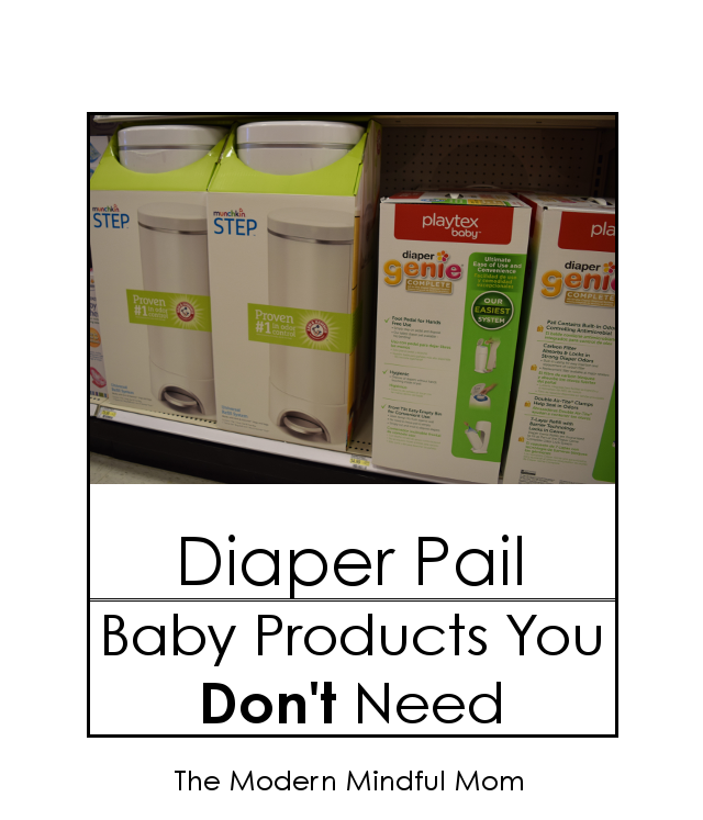 Diaper Pail: Baby Products You Don't Need