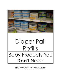 Skip the Diaper Genie refills!