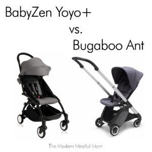 Peachy Babyzen Yoyo Vs Bugaboo Ant The Modern Mindful Mom Unemploymentrelief Wooden Chair Designs For Living Room Unemploymentrelieforg