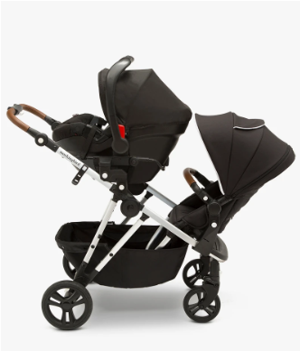 Mockingbird Double Stroller Review Double with Car Seat